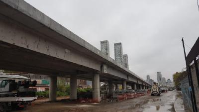 Organizan una caminata para reclamar más espacios verdes alrededor del bajo viaducto San Martín