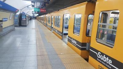 Metrodelegados anunció un paro en la Línea B para este miércoles