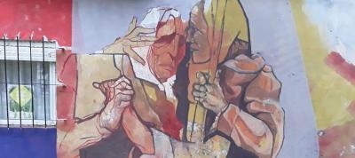 Inauguran un nuevo mural en homenaje a las Madres de Plaza de Mayo