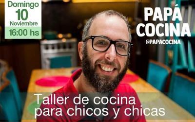 Brindarán un taller gratuito de cocina para los más chicos en la Feria de Agronomía