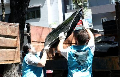 El Ministerio de Justicia y Seguridad de la Ciudad secuestró más de 10 mil autopartes ilegales en operativos en La Paternal