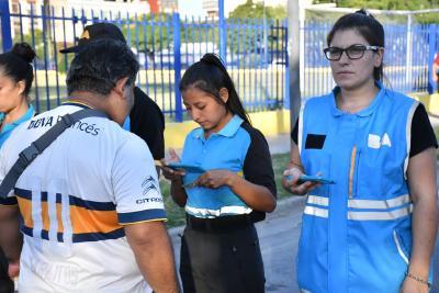 Tribuna Segura: Seis detenidos, y más de 71 mil hinchas supervisados el fin de semana en la Ciudad