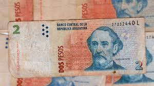 billete 2 pesos